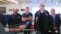 Sables-d'Olonne: En larmes, les rescapés racontent ce qui s'est passé sur le bateau de sauvetage et rendent hommage à leurs amis décédés