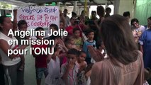 Colombie: Angelina Jolie à la frontière avec le Venezuela