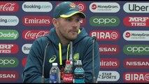 Australia's Aaron Finch pre India