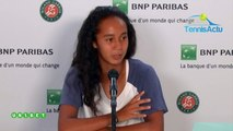 "Roland-Garros 2019 (Juniors) - Leylah Annie Fernandez, la 4e pépite du Canada : ""Andreescu et Auger-Aliassime, c'est inspirant"""