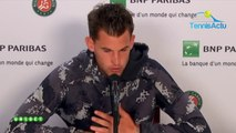 "Roland-Garros 2019 - Dominic Thiem closed the ""controversy"" Novak Djokovic"
