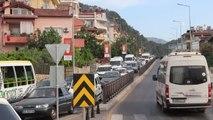 Güney Ege'de tatilciler dönüş yolunda (2)