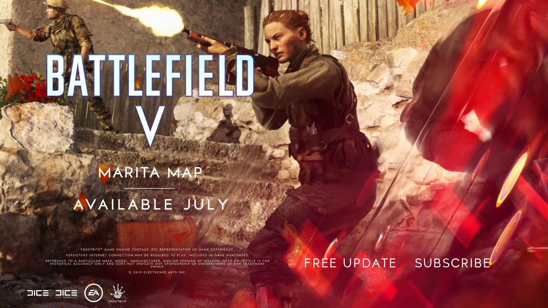 Battlefield V - New Marita Map Introduction (E3 2019)