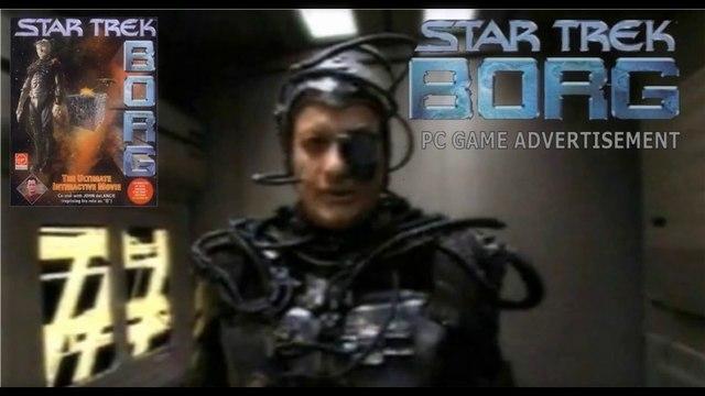 STAR TREK: BORG - PC Game Advertisement (1996)