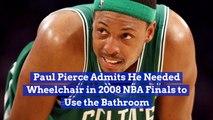 Paul Pierce Remembers This Embarrassing Injury