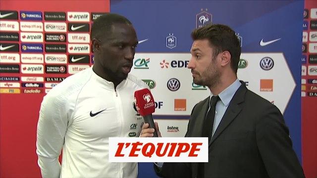 Sissoko «Il va falloir se remettre en question» - Foot - Qualif. Euro - Bleus