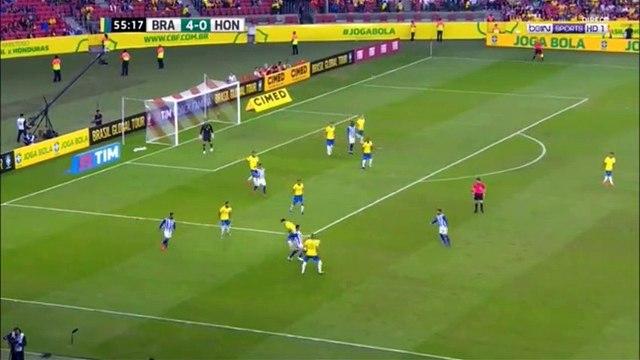 Brazil 5-0 Honduras - David Neres goal