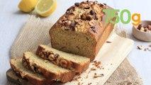 Recette du cake aux noisettes et citron - 750g