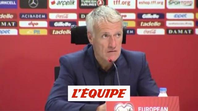 Deschamps «Il a manqué tellement de tout...» - Foot - Qualif. Euro - Bleus