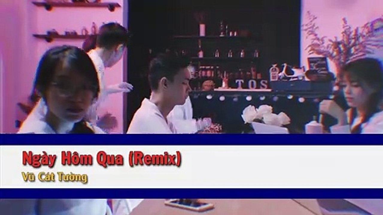 [Karaoke] Ngày Hôm Qua (Remix) - Vũ Cát Tường [Beat]