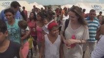 """Jolie califica como """"admirable"""" la ayuda de Colombia ante el éxodo de venezolanos"""