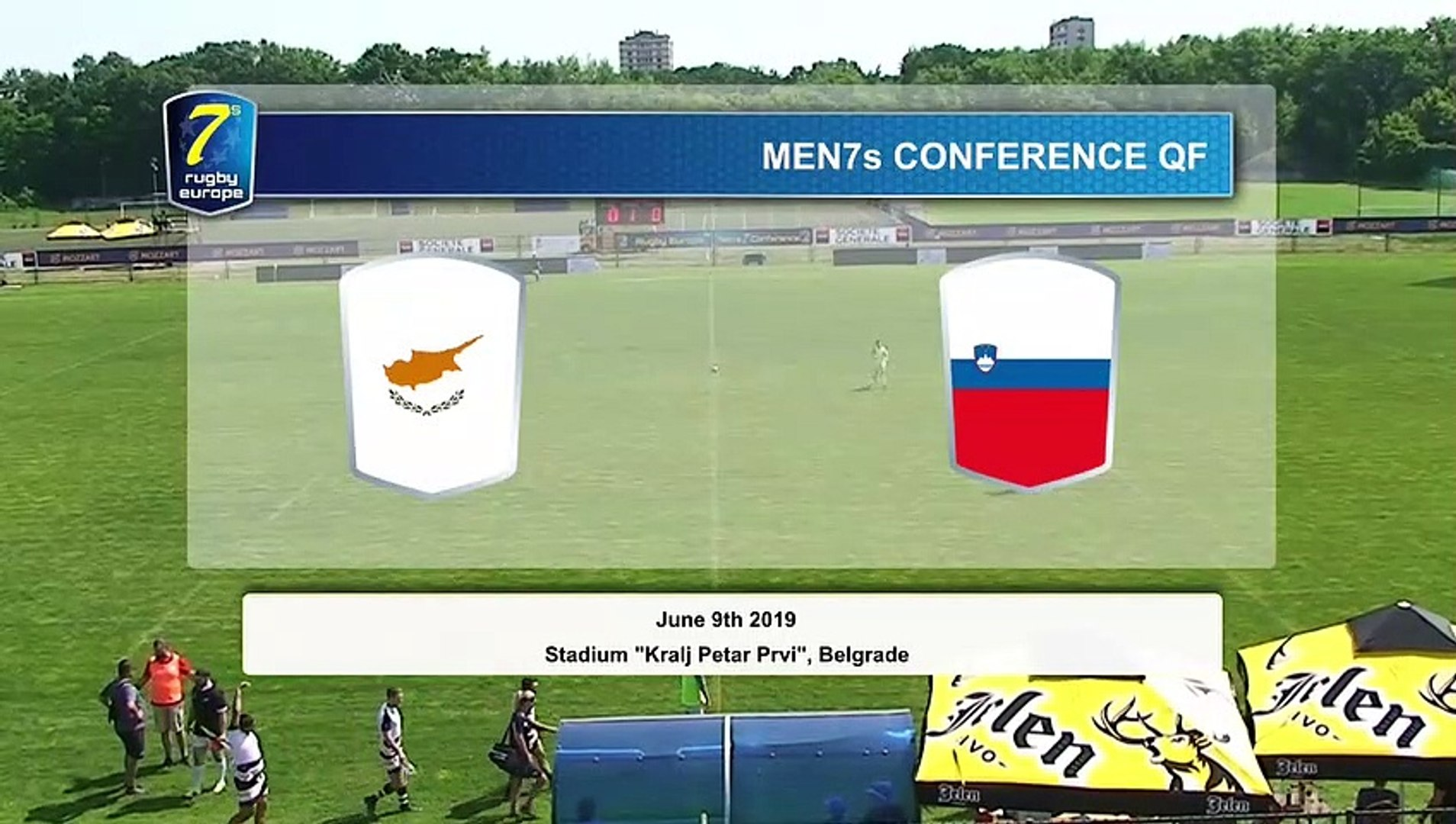 REPLAY QUARTER FINALS - DAY 2 - RUGBY EUROPE MEN 7s CONFERENCE 2019 - BELGRADE 2019 (4)