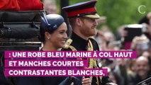PHOTOS. Trooping the colour : pour sa tenue, Meghan Markle n'a pas fait la même erreur que l'année dernière
