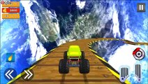 Crazy Off road Stunts - Extreme Monster Stunt Car - Android Gameplay FHD