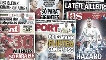 Les nouveaux galactiques vont coûter très cher au Real Madrid, Manchester City en pole position pour faire venir João Félix