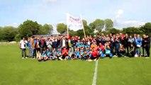 08/06/2019 : U18 CHAMPION de la Coupe du District. TOUS ENSEMBLE : Coachs, Joueurs, encadrants, Supporters, Amis, Familles....