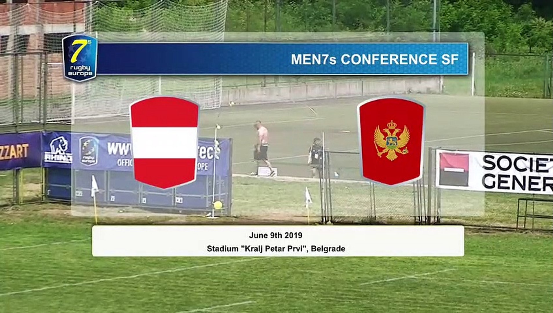 REPLAY - SEMIFINALS GAMES - RUGBY EUROPE MEN 7s CONFERENCE 2019 - BELGRADE 2019