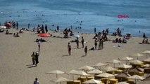 Balıkesir Burhaniye Bayram bitti ancak Kuzey Ege sahillerinde yoğunluk sürüy