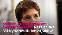 Laurent Ruquier fait de brefs adieux à Christine Angot et Charles Consigny