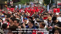 Hong Kong: manifestation géante contre le projet d'extradition