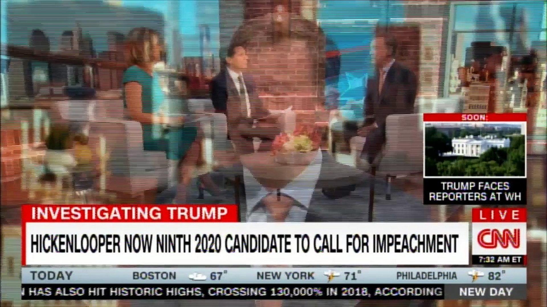 Gov. John Hickenlooper live on New Day. #Election2020 #DonaldTrump #Breaking