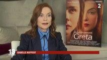 """Cinéma : Isabelle Huppert en femme violente dans """"Greta"""""""