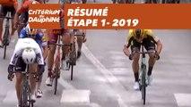 Résumé - Étape 1 - Critérium du Dauphiné 2019
