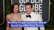 Bradley Cooper Parts Ways With Irina Shayk