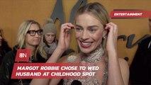 Margot Robbie Had An Adorable Wedding Idea