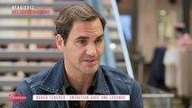 Roger Federer, entretien avec une légende  - Clique Dimanche - CANAL+