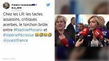 Tacles assassins, critiques acerbes : le torchon brûle entre Nadine Morano et Valérie Pécresse