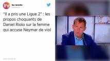 Football : Le dérapage honteux de Riolo et Rothen sur l'accusatrice de Neymar