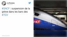 SNCF. Les syndicats suspendent la grève dans les bars TGV