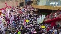 Projet de loi d'extradition: manifestation monstre à Hong Kong