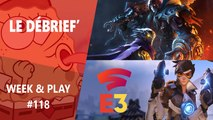 Débrief' : Overwatch 2, Stadia, Baldur's Gate 3, Darksiders Genesis et E3