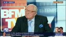 """Jean-Marie Le Pen: """"Le Rassemblement national  est le mieux placé pour prendre les responsabilités quand le macronisme s'effondrera"""""""