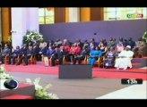 ORTM - Le Président assiste à la cérémonie d'hommage au President El Hadj Omar Bongo Ondimba au Gabon