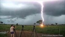 Un éclair impressionnant filmé à Darwin - Australie