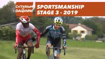 Sportsmanship  - Étape 3 / Stage 3 - Critérium du Dauphiné 2019