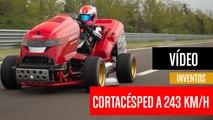 [CH] El cortacésped más rápido del mundo corre a 243 Km/h