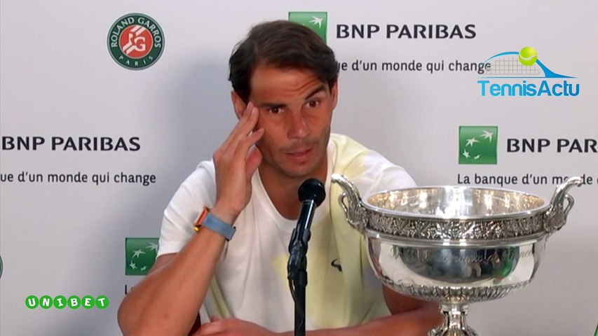 "Roland-Garros 2019 - Rafael Nadal almost ""stopped"" a month before Roland Garros"