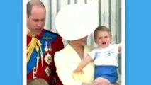 Le prince Louis très agité et très drôle aux côtés de Kate Middleton et du prince William