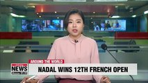Rafael Nadal wins 12th French Open title and 18th Grand Slam crown
