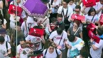 Gigantesca manifestación en Hong Kong contra extradiciones a China