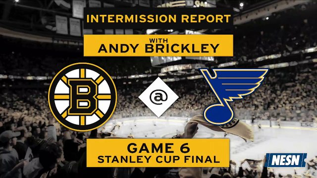 Stanley Cup Final Game 6: First Intermission Report