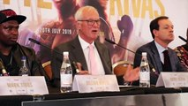 BARRY HEARN MAKES DIG AT 'SUPPOSED GYPSY KING' TYSON FURY OVER FIGHTING OPPONENT RANKED 93 ON BOXREC