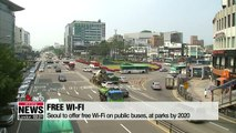 Seoul to offer free Wi-Fi on public buses, at parks by 2020