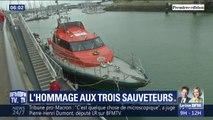 Un défilé d'une dizaine de bateaux et une marche blanche... Les Sables-d'Olonne rendent hommage ce lundi aux trois sauveteurs de la SNSM
