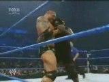 WWE FNS BATISTA VS MARK HENRY & PROMO