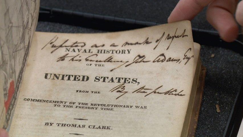Pawn Stars: Rick Sets Sail for John Adams's Naval History Books